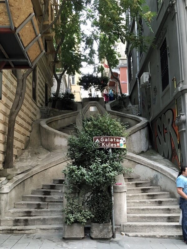 Just a random staircase outside