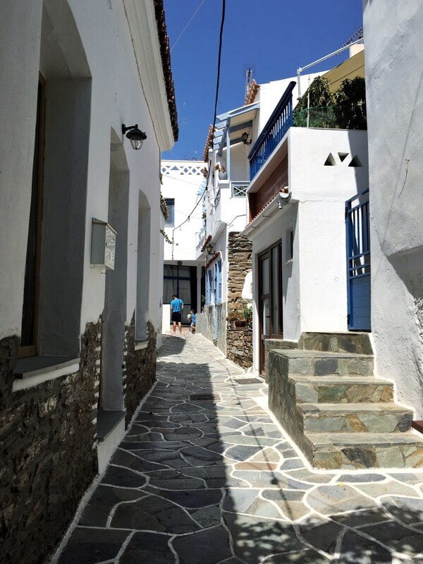 Example of a village passageway