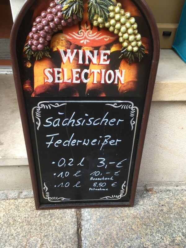 Prices for federweißer